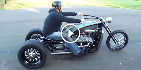1946 V8 Ford Flathead Powered Trike is the Best of the Best