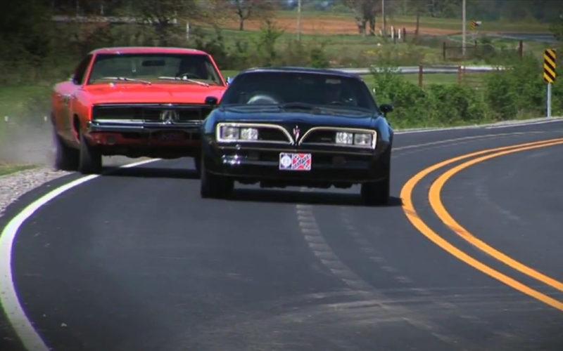 Image result for GENERAL LEE VS THE BANDIT TRANS AM – BEST CAR CHASE EVER ?